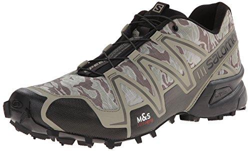 salomon men 39 s speedcross 3 trail running shoe safe. Black Bedroom Furniture Sets. Home Design Ideas